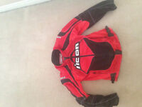 Icon contra motorcycle jacket size small