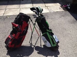 5 piece left handed youth golf clubs