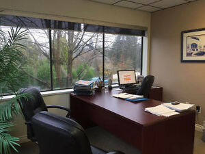 Bright corner office with free parking North Shore Greater Vancouver Area image 1