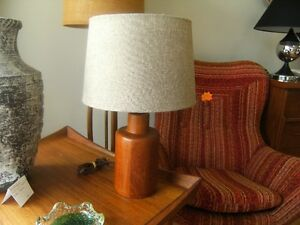 VINTAGE MIDCENTURY RETRO TEAK ROSEWOOD LIGHTING