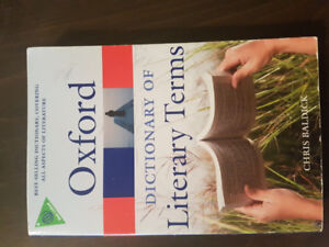 Oxford Dictionary of Literary Terms.