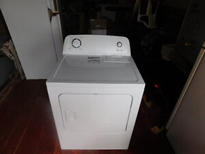 Washer, dryer, dehumidifier, fridge, microwave and small stove