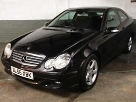 Feb 2007 MERCEDES-BENZ C200 2.1 CDi SE SPORT COUPE 120 BHP 3 Door 6 Speed MANUAL