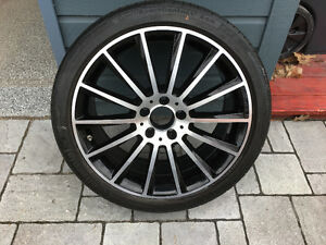 "19"" Mercedes AMG Wheels and Summer Tires"