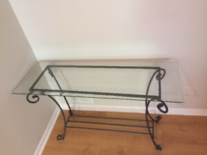 Table console table