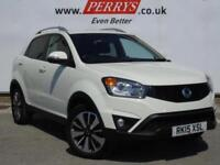 2015 SSANGYONG KORANDO 2.0 Limited Edition 5dr