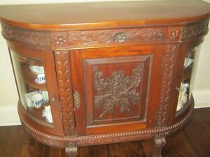Beautiful Antique Handcrafted Real Hardwood Furniture