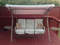 3 seat Patio Swing