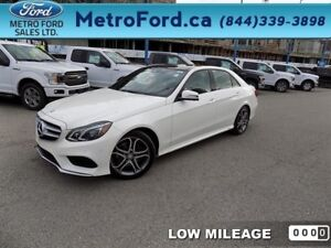 2014 Mercedes Benz E-Class BlueTEC 4MATIC Sedan  - $258.09 B/W