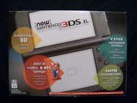 Nintendo 3DS XL Black with games OBO