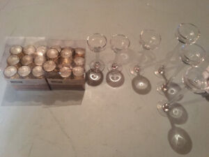 Candles/candle holders