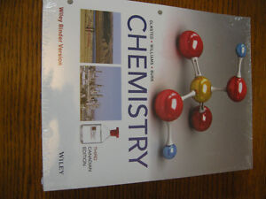 Chemistry textbook, Olmsted, Williams and Burk