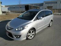 2008 Mazda Mazda5, Auto, 6 Pass,  Leather,Sunroof,  Certified,
