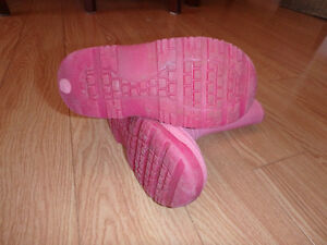 Pink Rain Boots - Child Size 9 Kitchener / Waterloo Kitchener Area image 2