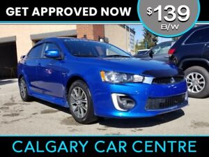 2016 Mitsubishi Lancer $139B/W LIMITED w/Heated Seats, Sunroof,