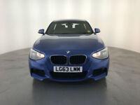 2013 63 BMW 118D M SPORT DIESEL 5 DOOR HATCHBACK 1 OWNER BMW SERVICE HISTORY PX