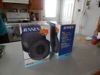 "TWO JENSEN 6 1/2"" DUAL CONE SPEAKERS - JS65"