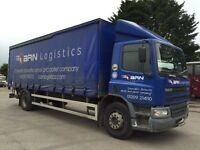 DAF CF65.250 26ft RIGID CURTAIN SIDER WITH CANTILEVER TAILIFT, 2006/06 REG.