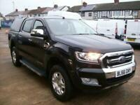 2016(66) FORD RANGER LIMITED DOUBLE CAB 4WD, 2.2TDCi 150PS 6 SPEED EURO5