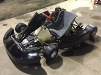 Kart avec moteur 4 temps