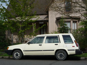 Toyota High-top Tercel Wagon
