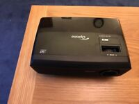 Optoma Projector, Remote Control & Cables