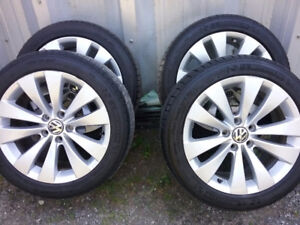 "Michelin tires on VW 17"" rims"
