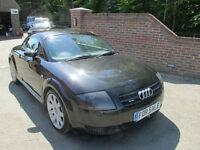 2002 (52) AUDI TT 1.8T QUATTRO + FULL BLACK HEATED LEATHER