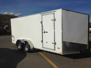 Cargo trailer 7'x16'