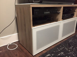 SOLD PENDING PICKUP  TV / Audio Stand - Ikea
