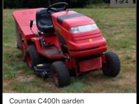 Countax c400h ride on lawn mower