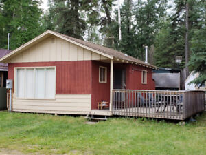 Emma Lake Cabin for sale, just steps from Sunnyside Beach