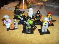 lego series minifigs