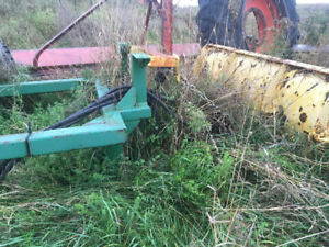 Plow for JD tractor