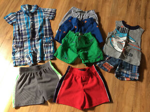 BOYS SUMMER CLOTHES (9-12 months) from Children's Place