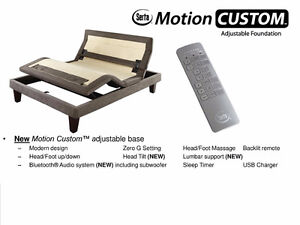 Adjustable Electric Bed Queen Size New in Box Serta®