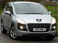 2012 Peugeot 3008 1.6 HDi 112 Active II 5dr Diesel Manual 97.000 miles Silver FS
