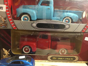 diecast trucks and cars  all scales