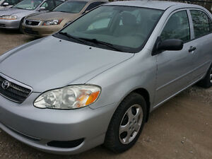 2006 Toyota Corolla Automatic Certified Low Mileage