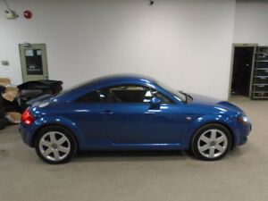 2002 AUDI TT 1.8T QUATTRO 6 SPEED! ONLY 130,000KMS! ONLY $8,900!