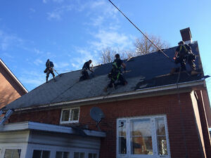 Roof repair or replacement, Leak diagnosis, Siding installation