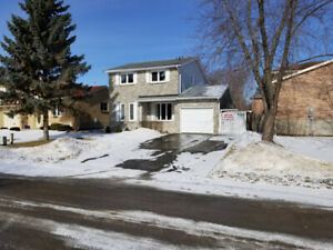 West End 2 Storey Attached  Garage Located On Quiet Cres