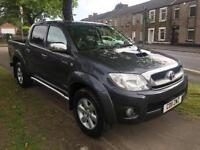 2011 11 Toyota Hilux INVINCIBLE D-4D 4X4 D/C 1 OWNER ONLY 52500 MILES F S H