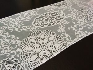 Ivory lace table runners West Island Greater Montréal image 2