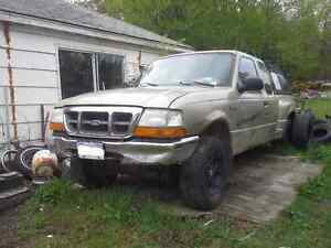 2000 Ford Ranger- Needs motor put in comes with low milage donor