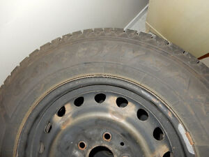 Set of four winter tires and rims for Dodge Caravan 225/65 R16 London Ontario image 4