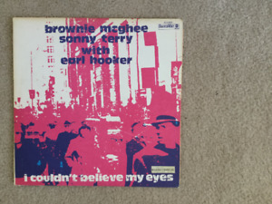 Sonny Terry/Brownie McGhee I Couldn't Believe My Eyes 33 1/3 LP