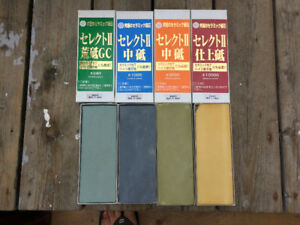 Woodworking Sharpening Water Stones for sale.