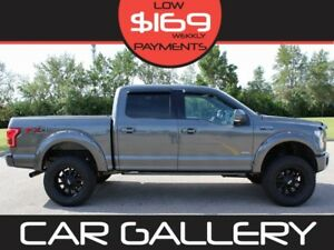 2015 Ford F-150 LARIAT SPORT FX4 LIFTED Leather, Panoramic Roof,