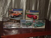 Assorted Plastic Model Kits For Sale
